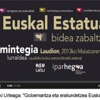 """""""Gobernantza eta erakundetzea Euskal Herrian"""""""